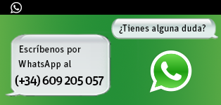 Contactanos por WhatsApp al (+34) 609 205 057""