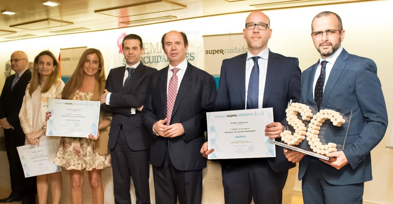 El sector asegurador, invitado a presentar sus candidaturas a los Premios SUPERCUIDADORES