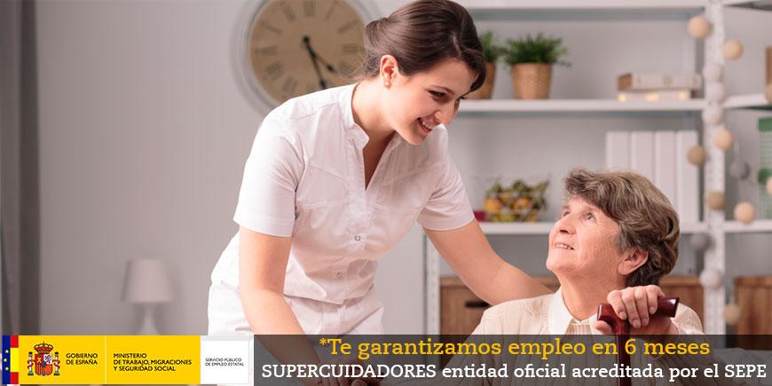 SSCS0108_2: Certificado de profesionalidad en atención sociosanitaria a personas  en el domicilio. OFICIAL y OBLIGATORIO