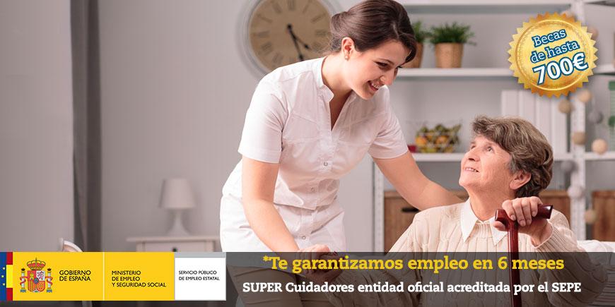 SSCS0108: Certificado de profesionalidad en atención sociosanitaria a personas  en el domicilio. OFICIAL y OBLIGATORIO