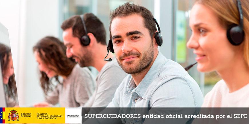 SSCG0111: Certificado de profesionalidad en gestión de llamadas de teleasistencia. OFICIAL